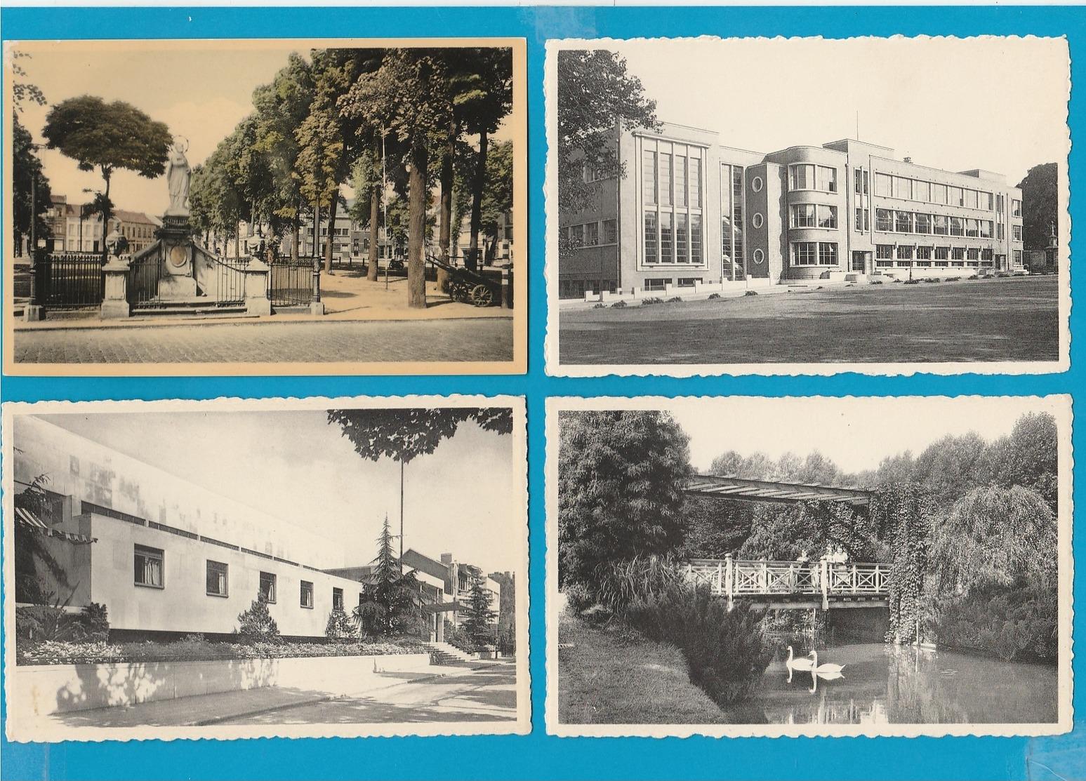 BELGIË Aalst, Dendermonde, Moerzeke, Lokeren, Boom,...., Lot Van 60 Postkaarten. - Cartes Postales