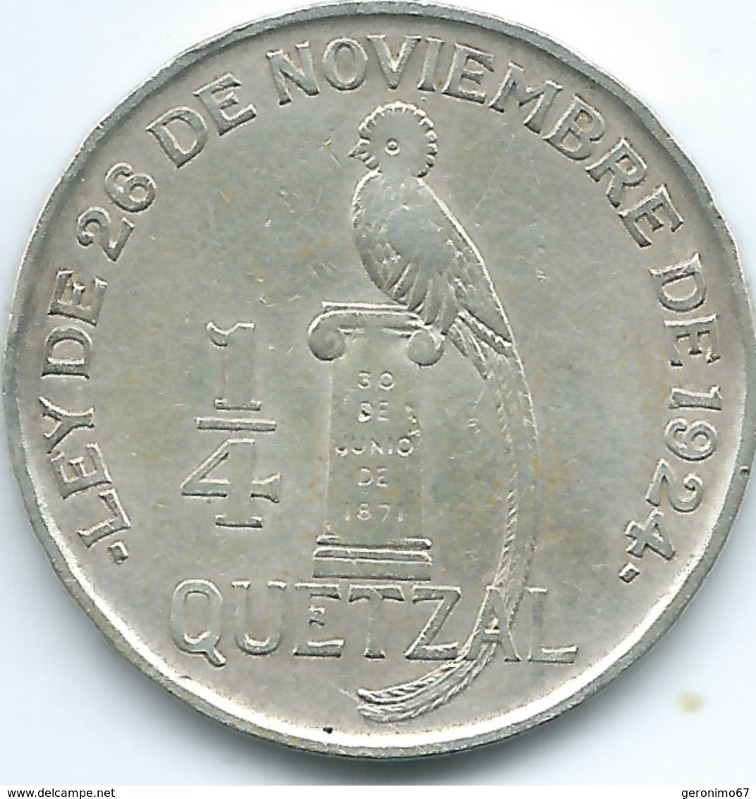 Guatemala - ½ Quetzal - 1925 - KM240 - Guatemala