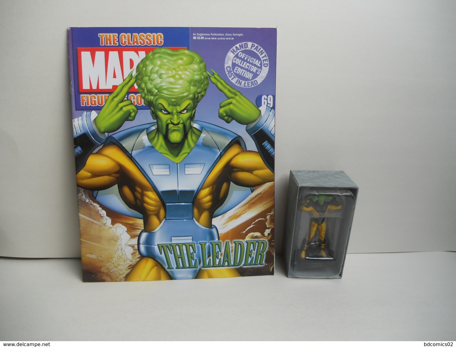 Figurine Marvel EAGLEMOSS  N° 69 LE LEADER Avec Son Fascicule ET BOITE - Marvel Heroes