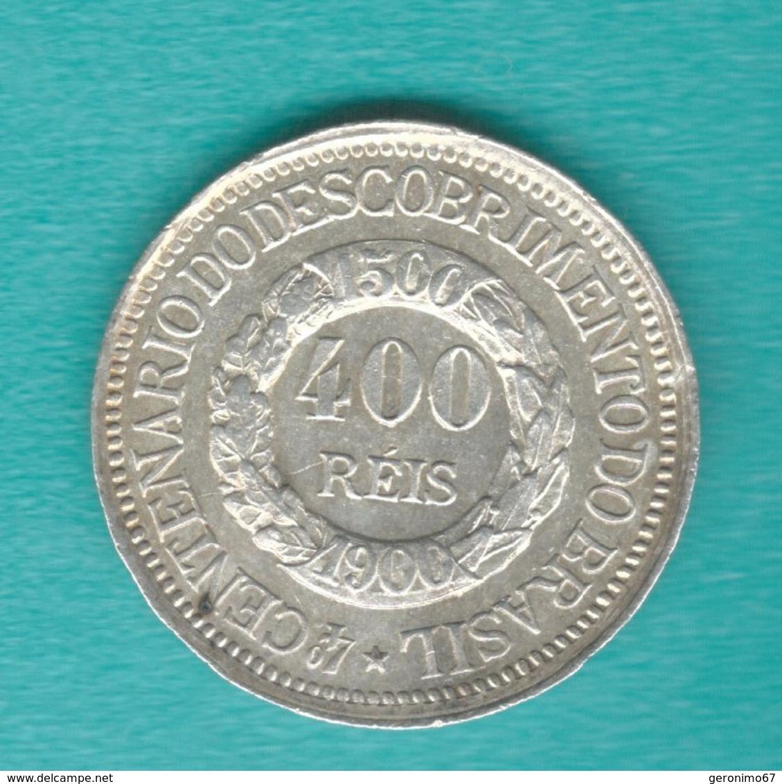Brazil - 400 Réis - 1900 - 400th Anniversary Of The Discovery Of Brazil - KM499 - Brésil