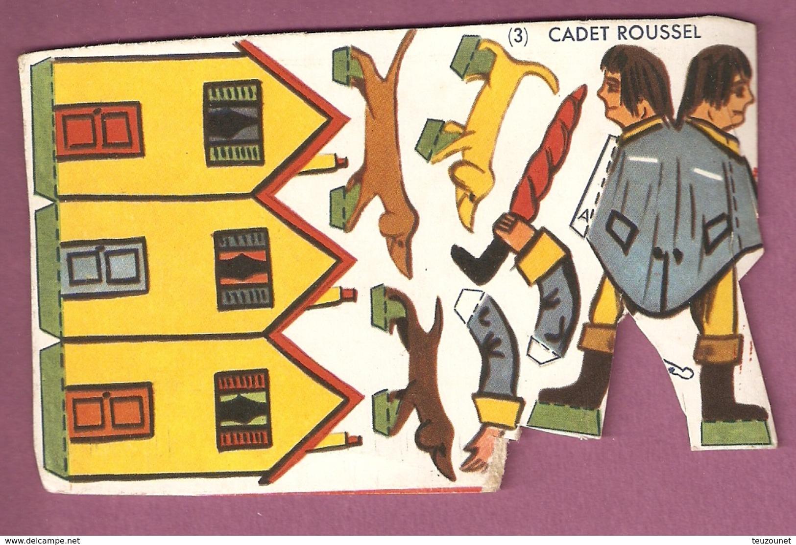 Découpage Cadet Roussel (3) - Banania? - Pubblicitari
