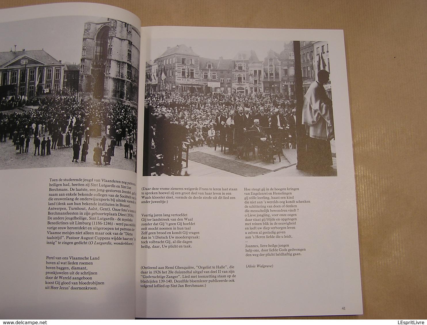 LIEFDE GAF U DUIZEND NAMEN Een Religeus Vlaams Familie Album Over De Période 1900 1940 Régionaal Kerk België Processie - Histoire