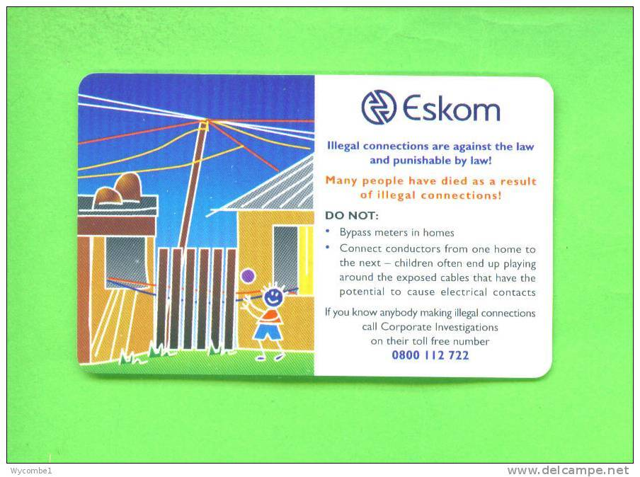SOUTH AFRICA - Chip Phonecard As Scan - Zuid-Afrika