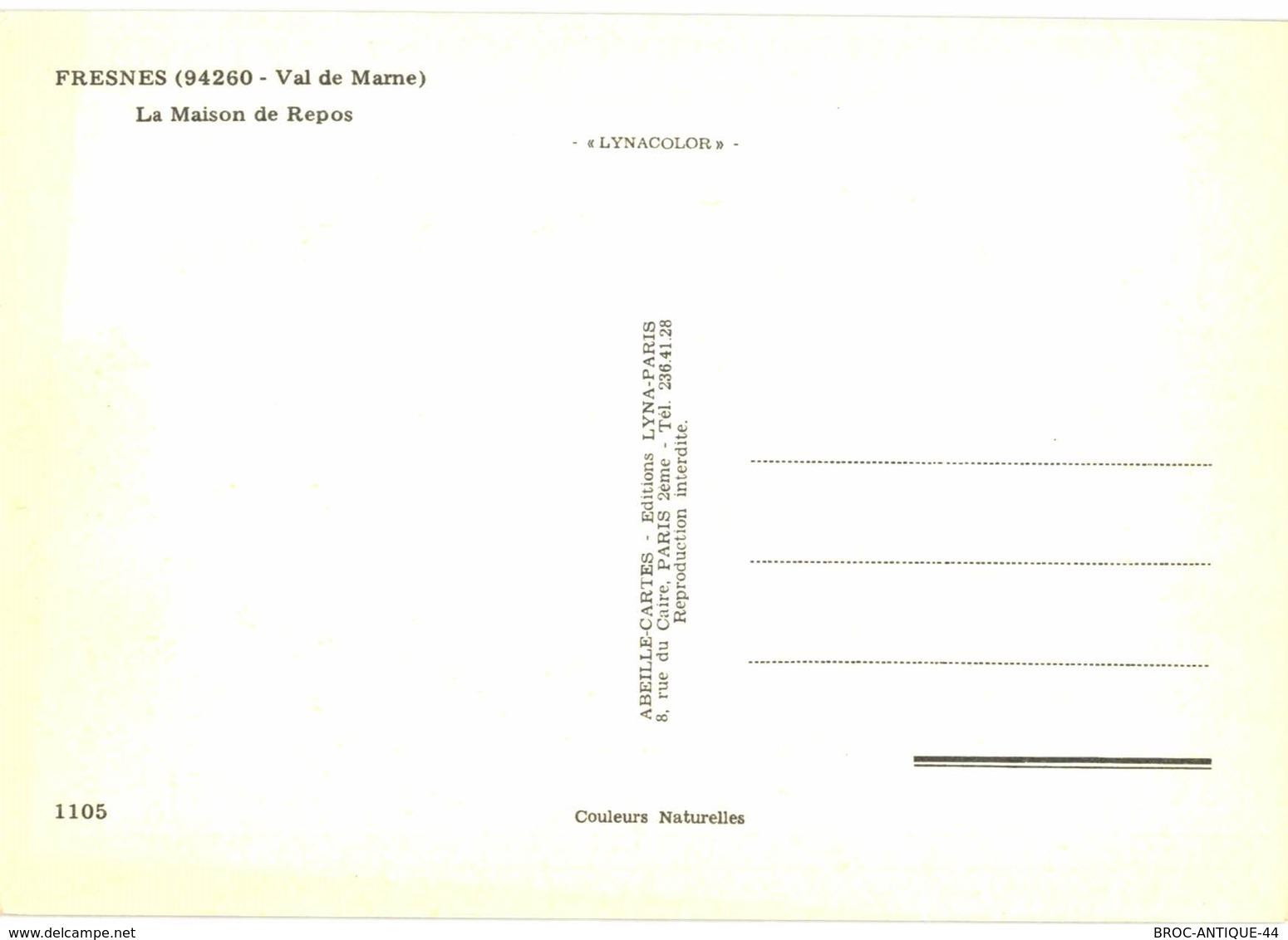 LOT N°928 - LOT DE 12 CARTES DE FRESNES - Fresnes