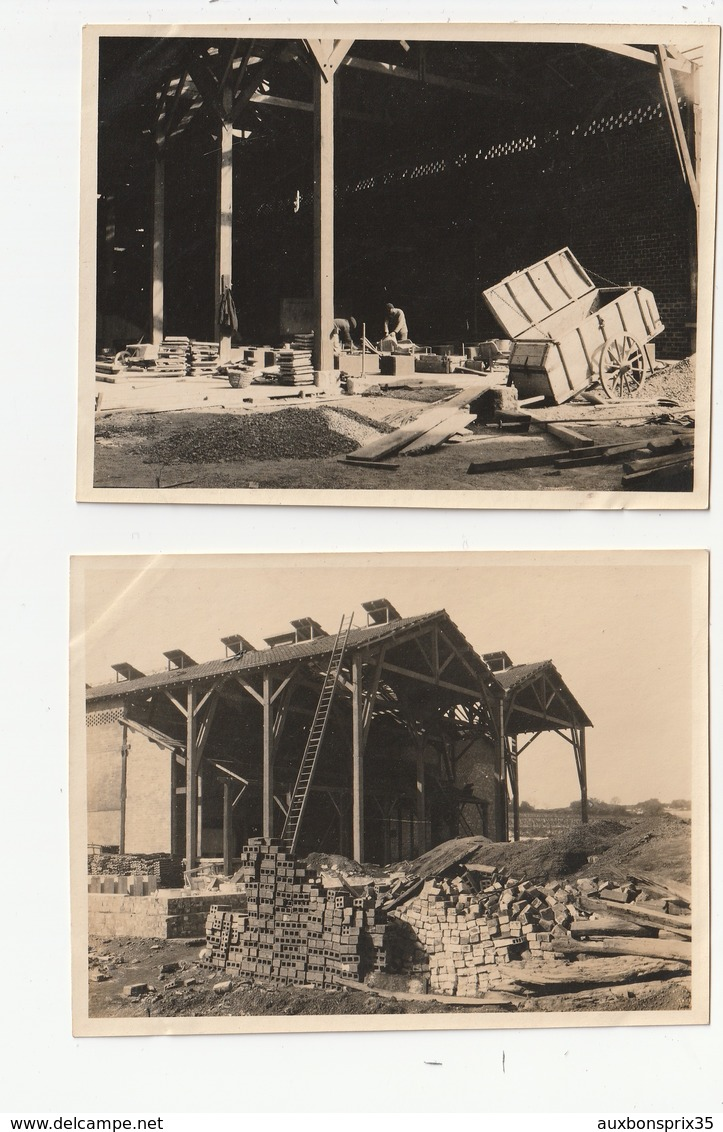 2 PHOTOS - SETE - USINE CHIMIQUE - AGRANDISSEMENT 4ème ATELIER, SULFATE DE CUIVRE - 28/04/21 - 34 - Places