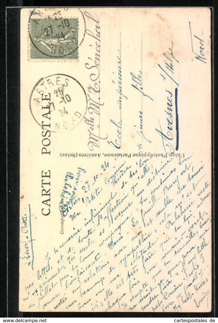 CPA Artres, Monument Aux Morts De La Grande Guerre 1914-18 - Unclassified