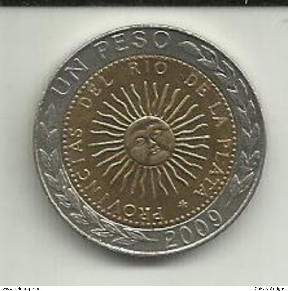 1 Peso 2009 Argentina - Argentine