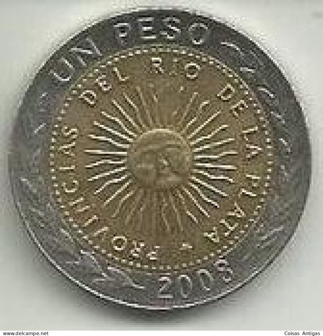 1 Peso 2008 Argentina - Argentine