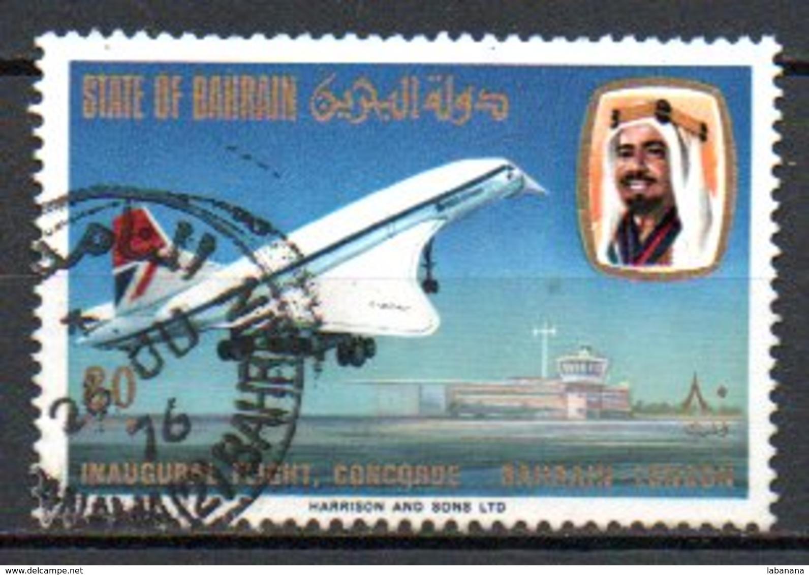 Bahrain 242 Obl Concorde - Bahreïn (1965-...)