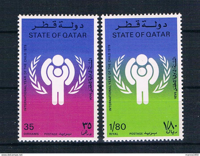 Qatar 1979 Kinder Mi.Nr. 749/50 Kpl. Satz ** - Qatar