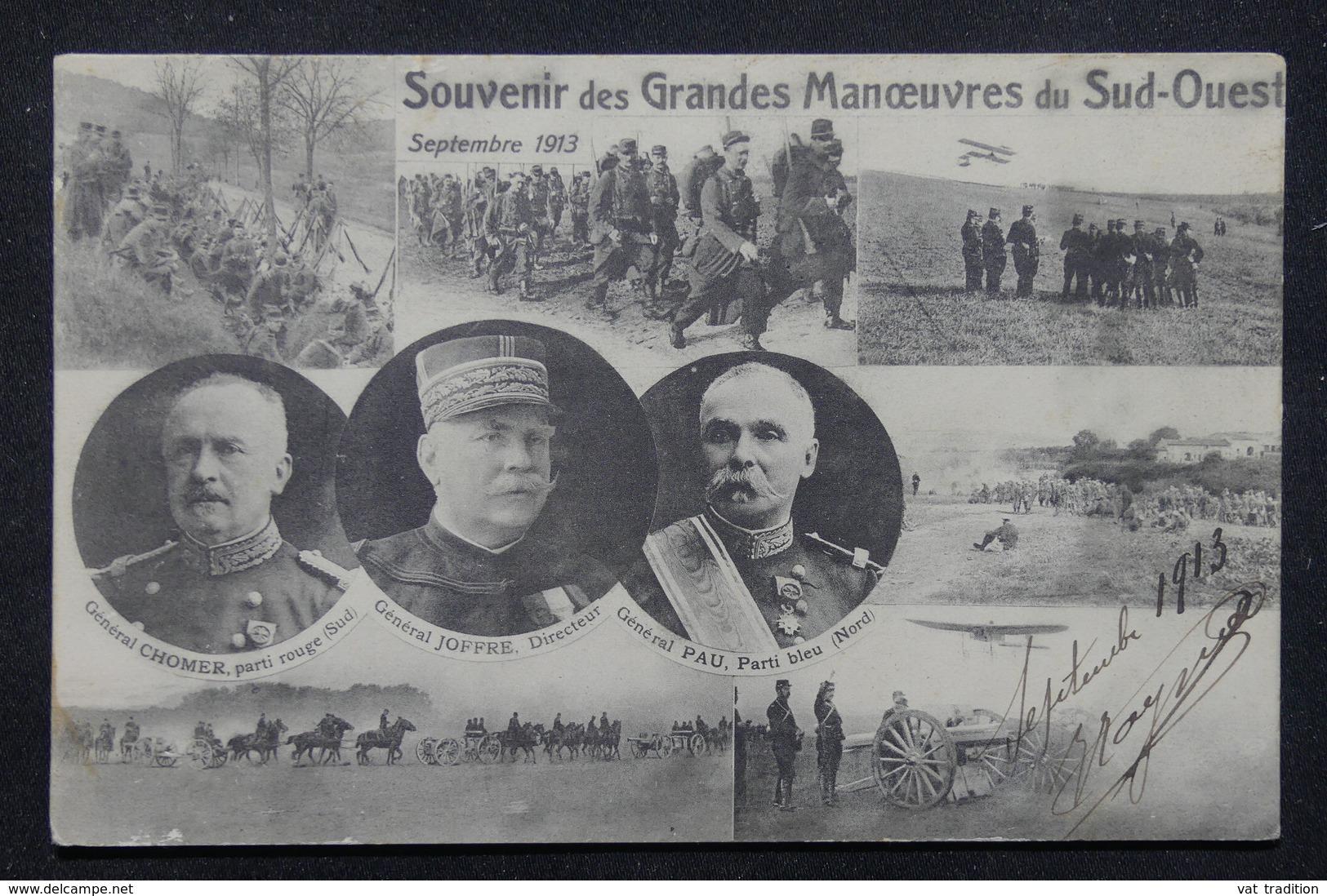 MILITARIA - Carte Postale - Grandes Manœuvres De 1913 - L 21834 - Manovre