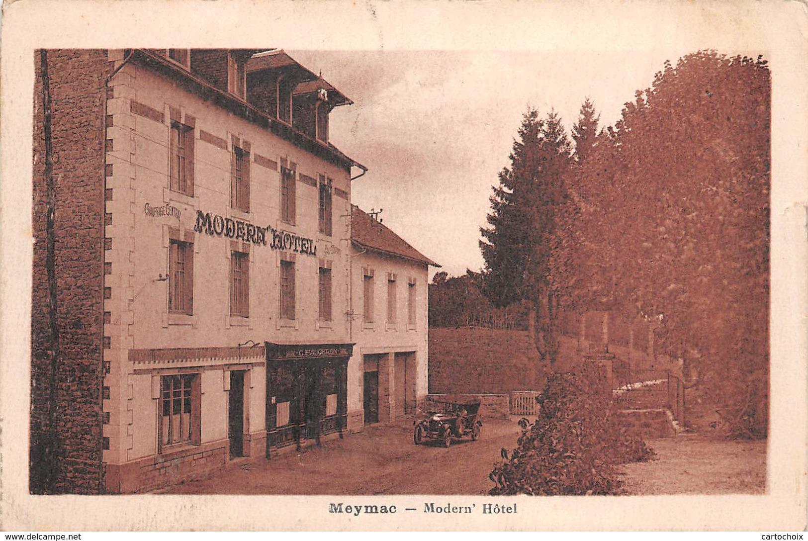 19 - Meymac - Beau Plan Du Modern'Hôtel - Autres Communes