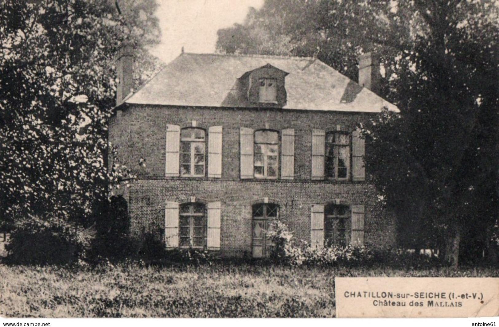 CHATILLON SUR SEICHE - Château Des Mallais - France