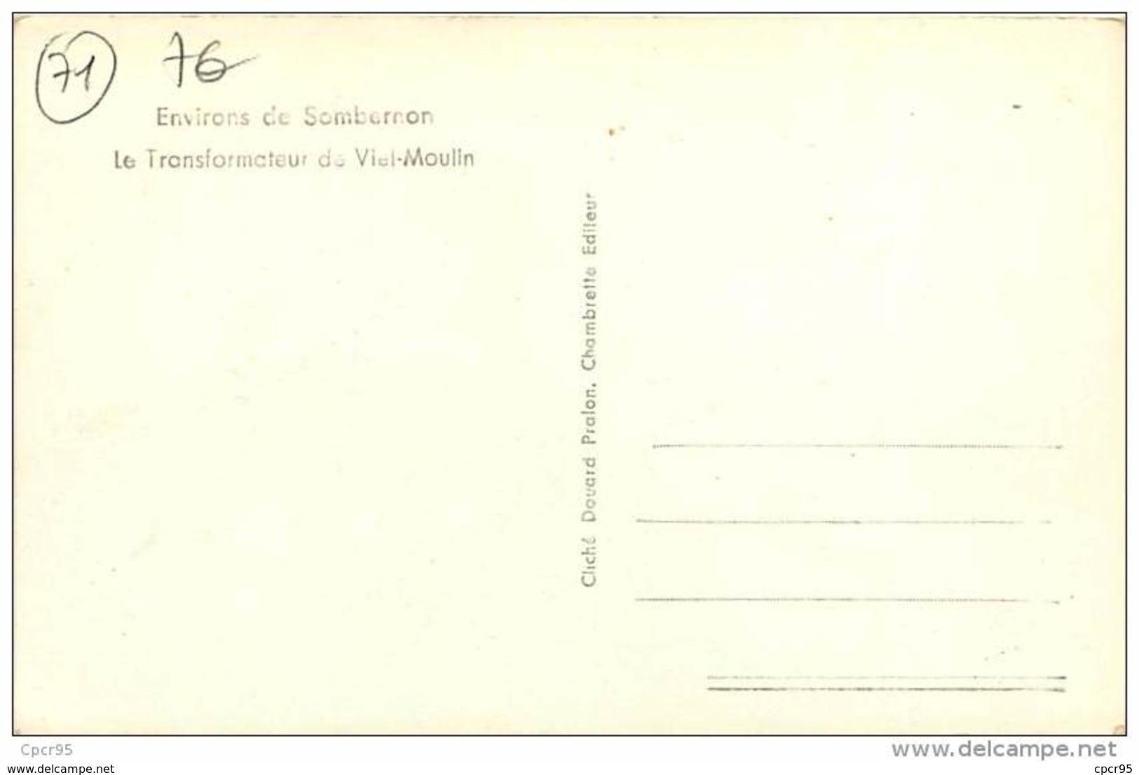 71.ENVIRONS DE SOMBERNON.N°39.LE TRANSFORMATEUR DE VIEL-MOULIN - Autres Communes