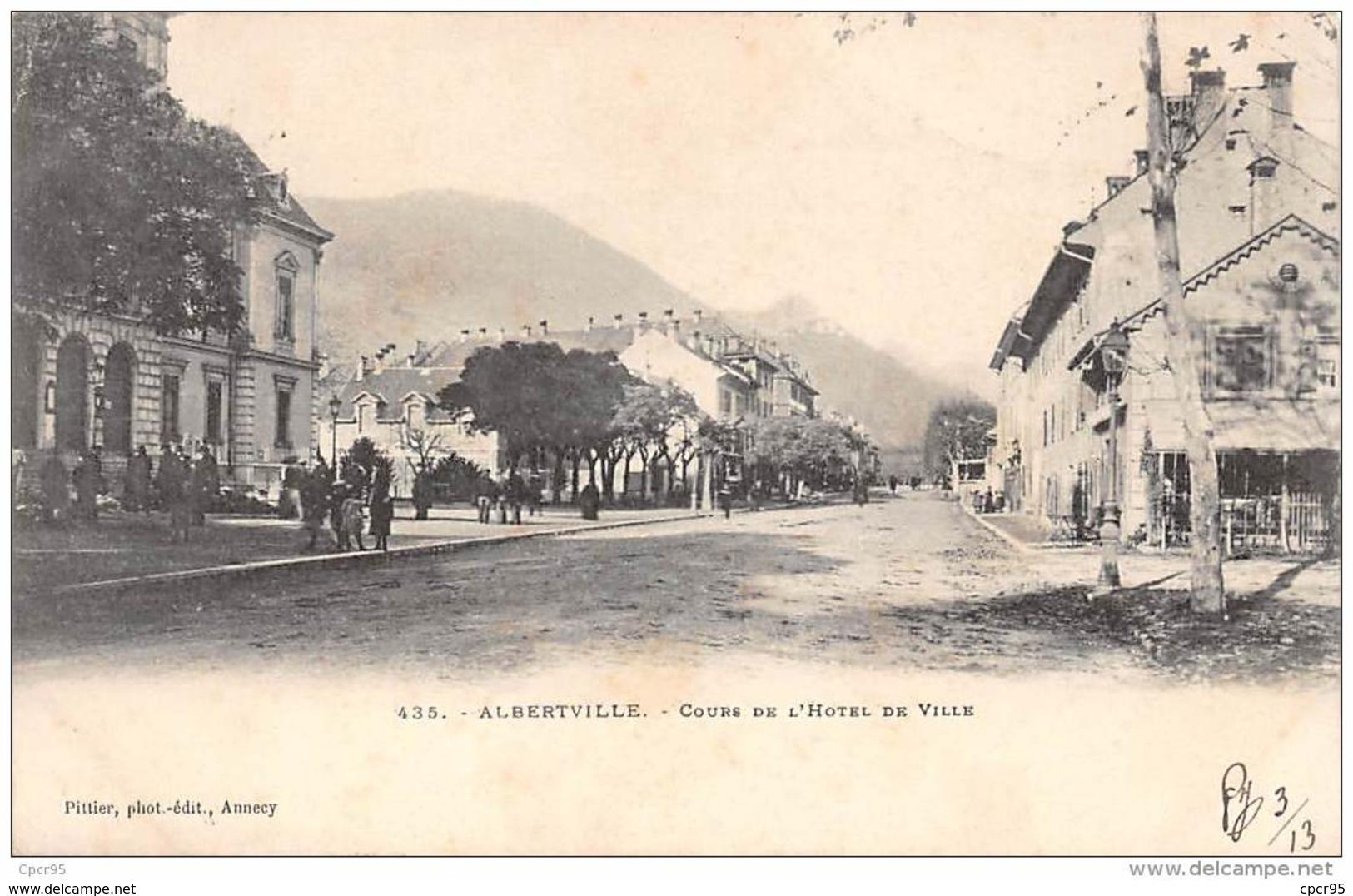 73 . N° 43884 . Albertville . Cours E L Hotel De Ville - Albertville