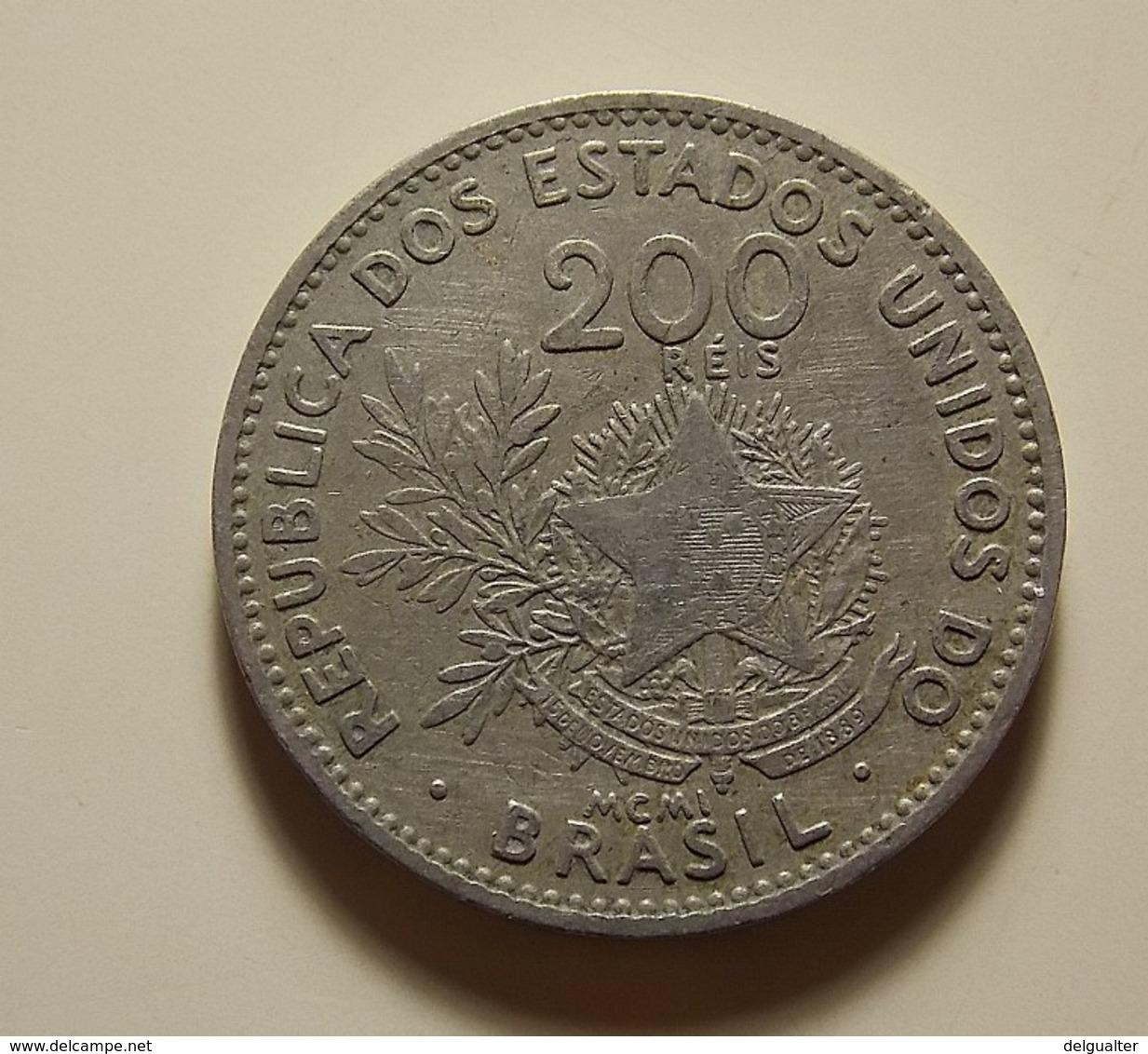 Brazil 200 Reis 1901 - Brésil