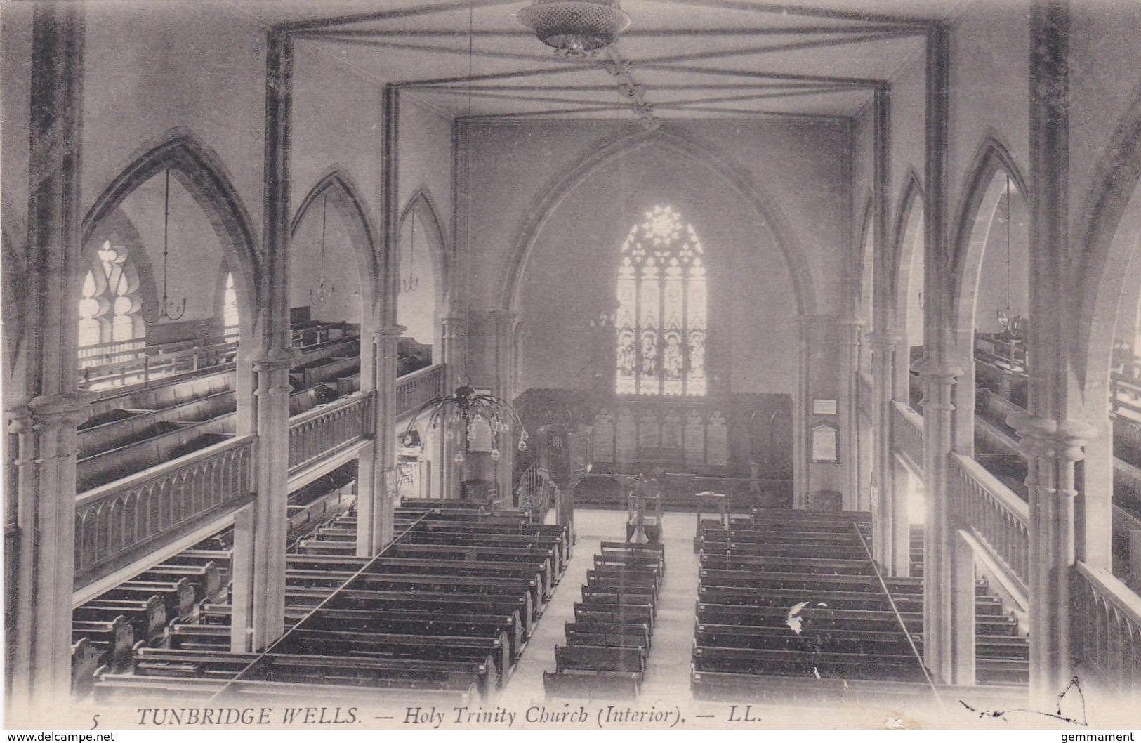 TUNBRIDGE WELLS-HOLY TRINITY CHURCH INTERIOR. LL 5 - England