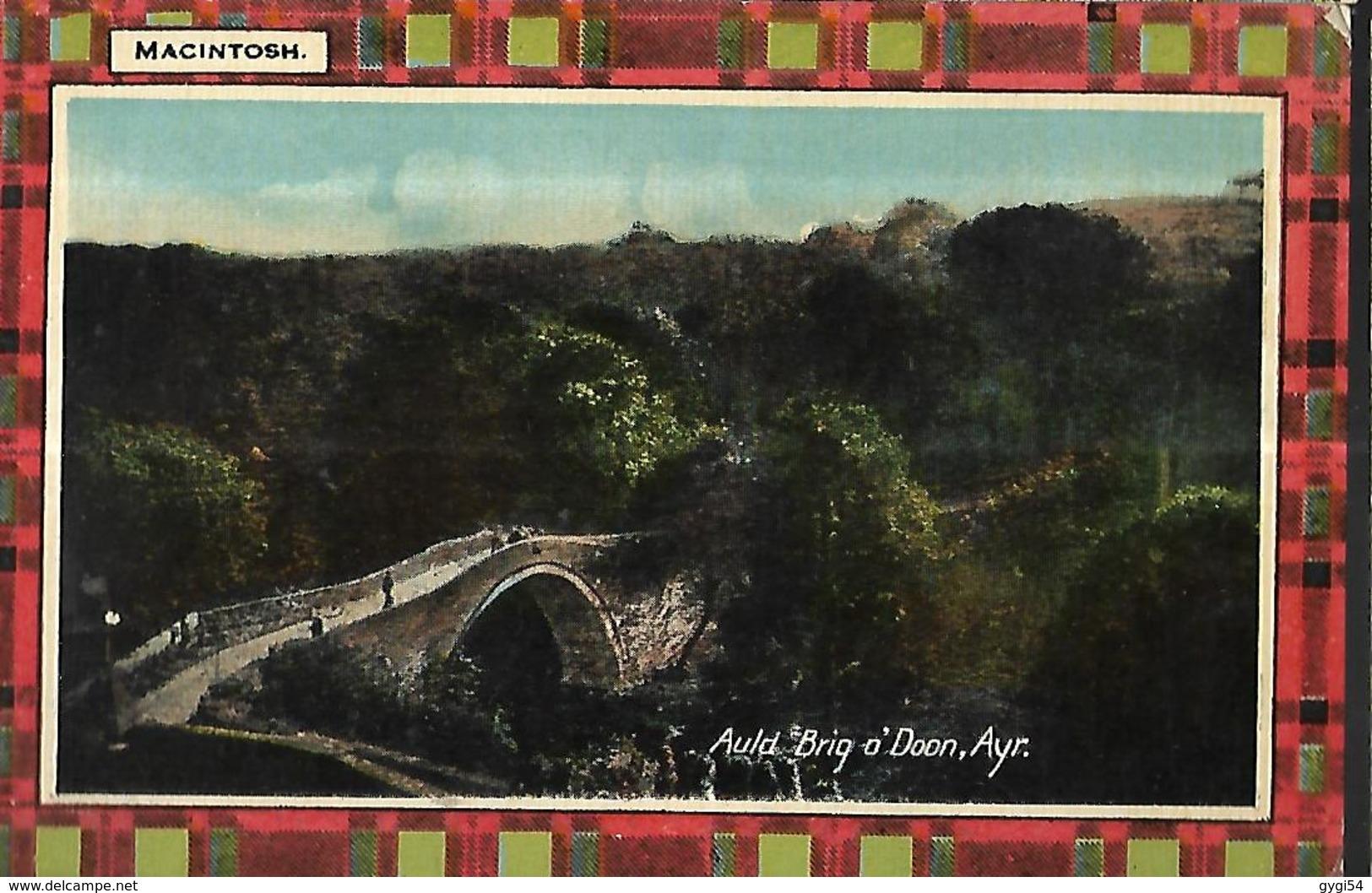 Auld    Brig 0' Doon  Ayr     Série N° 4542 Macintosh - Ayrshire