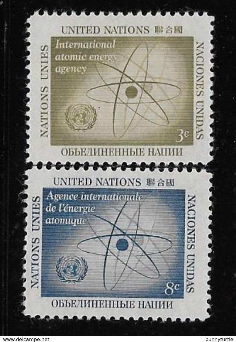 United Nations UN 1958 International Atomic Energy Agency MNH - New York -  VN Hauptquartier