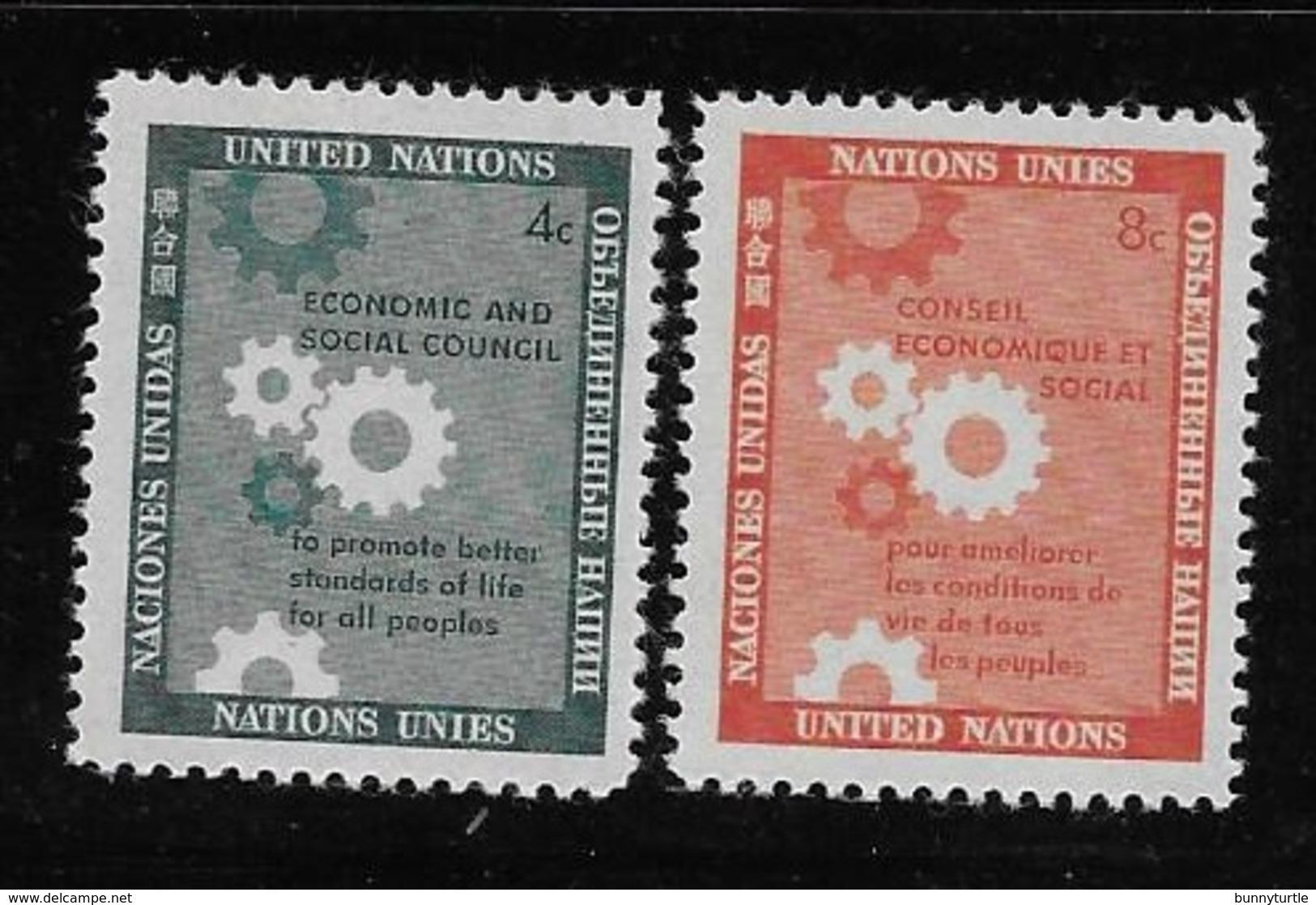 United Nations UN 1958 Economic And Social Council MNH - New York -  VN Hauptquartier