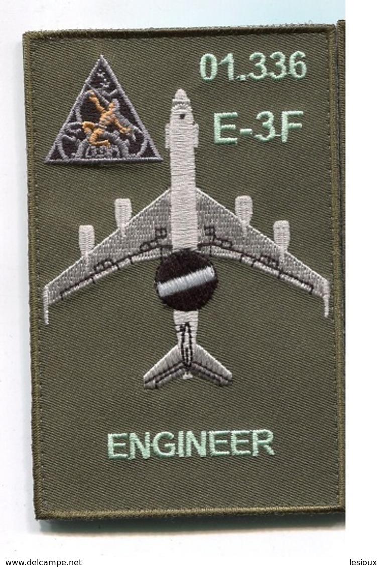 G366 PATCH AIR AVIATION BOEING AWACS 36° ESCADRE DE DETECTION AEROPORTEE 01.336 E.3F MONT DE MARSAN - Patches