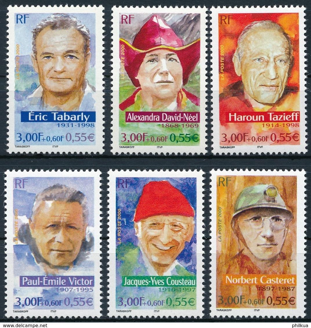 3483-3488  Postfrisch/** - Unused Stamps