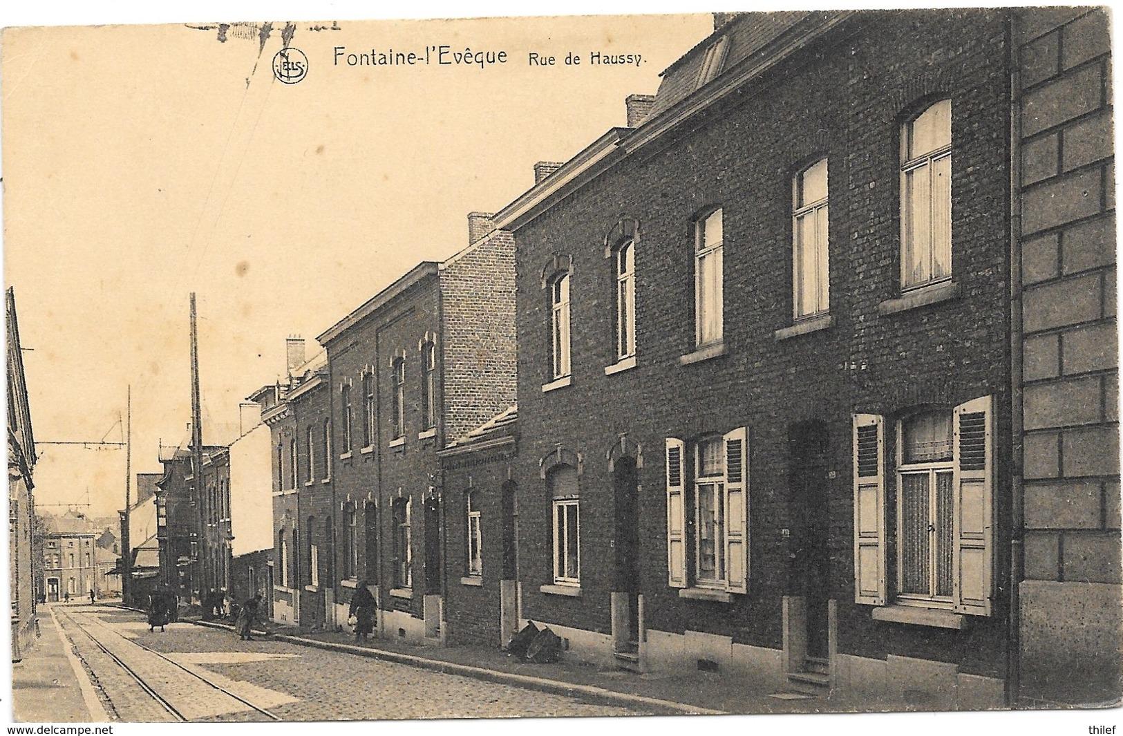 Fontaine-l'Evêque NA66: Rue De Haussy - Fontaine-l'Evêque
