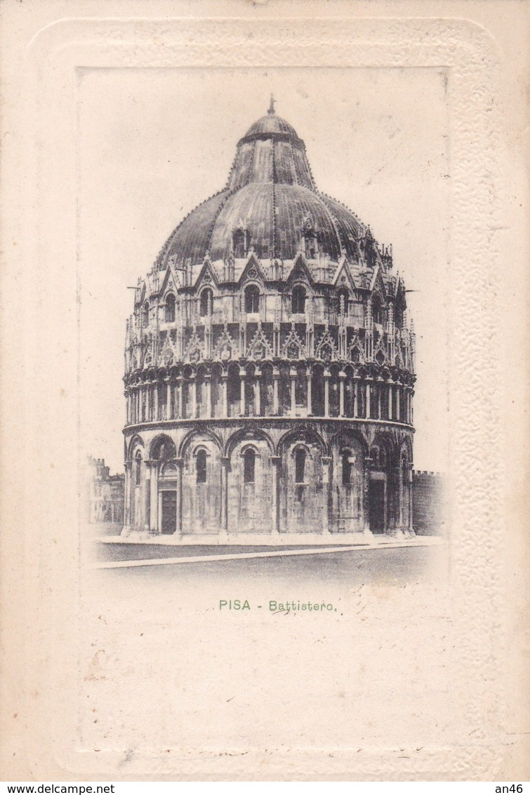 PISA BATTISTERO  VG AUTENTICA 100% - Pisa