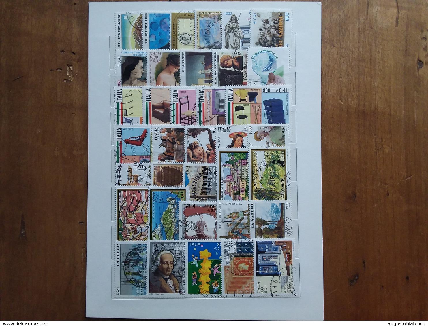 REPUBBLICA Anno 2000 Completo Timbrati - N.72 X 0,05 = 3,60 + Spese Postali - 2001-10: Usati