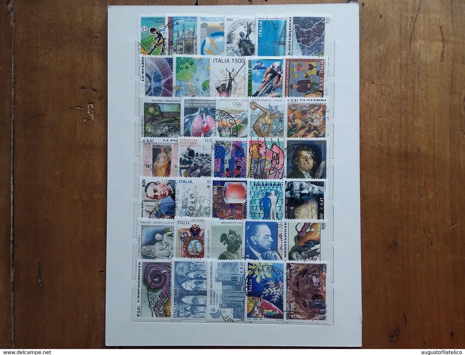 REPUBBLICA Anno 2000 Completo Timbrati - N.72 X 0,05 = 3,60 + Spese Postali - 6. 1946-.. Repubblica