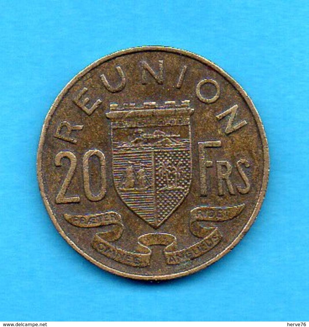 Ile De La Réunion  Pièce 20 Francs - 1962 - Réunion