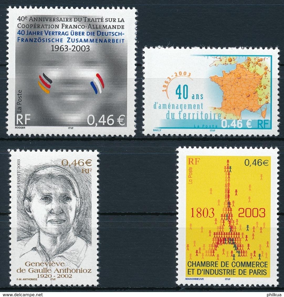 3691-3684  Postfrisch/** - Unused Stamps