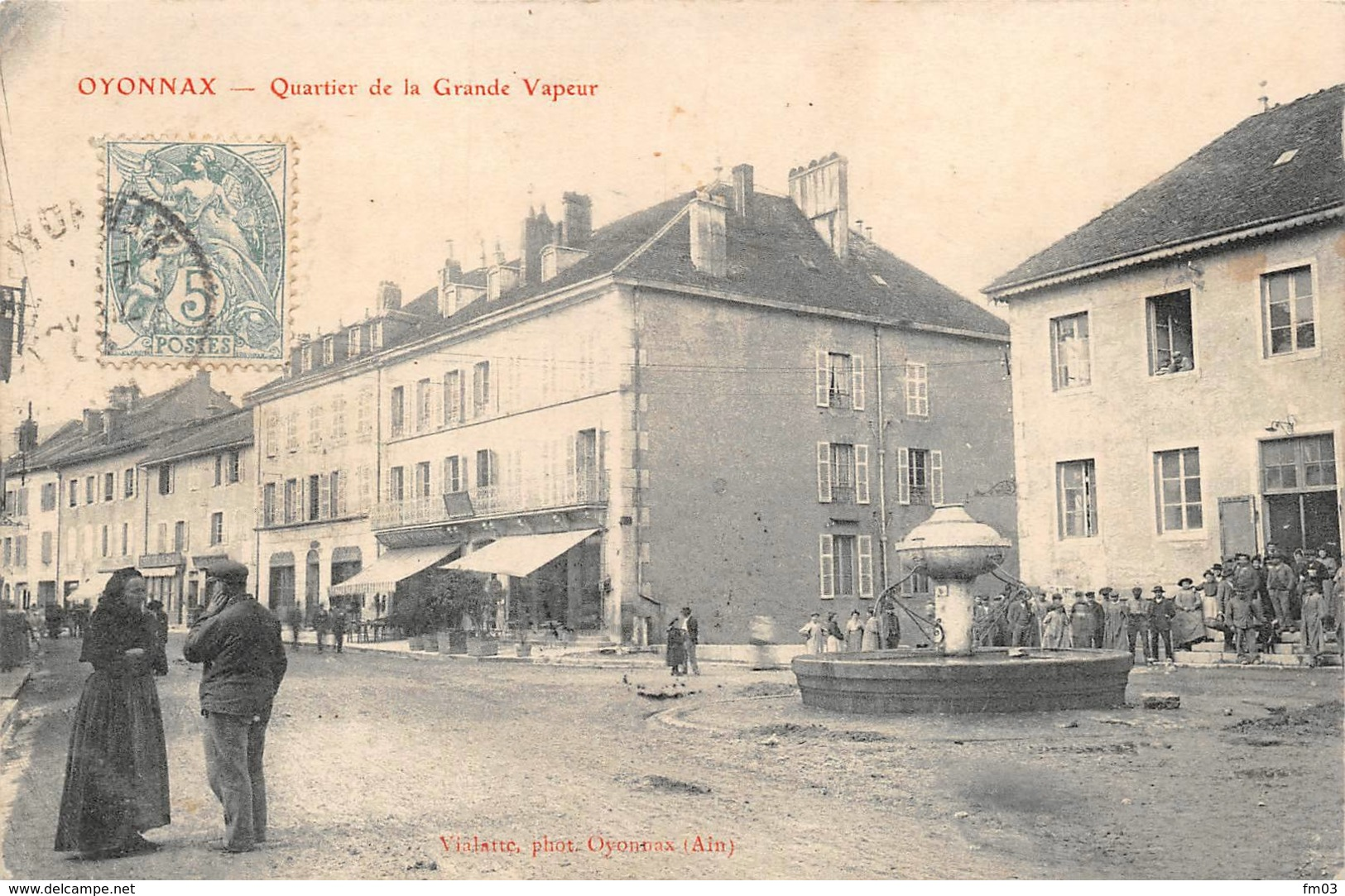 Oyonnax Quartier De La Grande Vapeur - Oyonnax