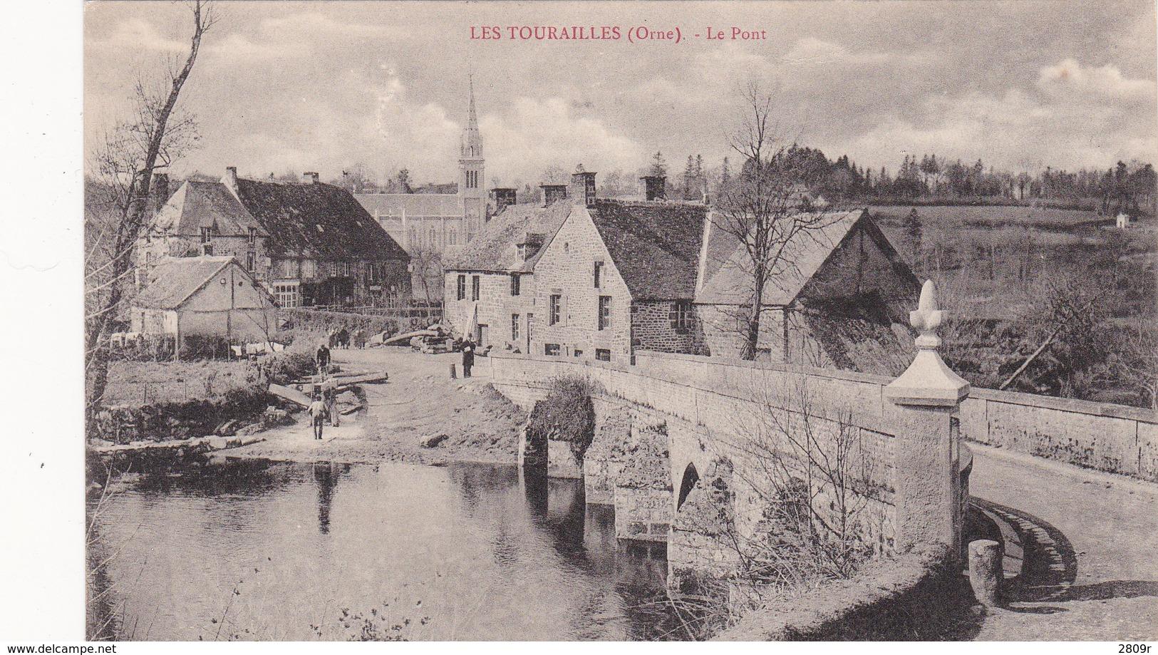 2 Cartes Les Tourailles - France