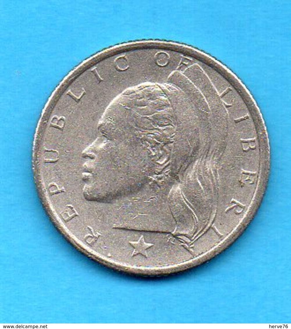 LIBERIA - Pièce 25 Cents - 1966 - Liberia