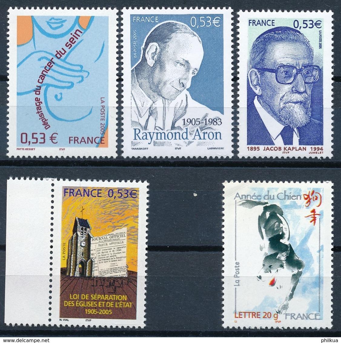 3994,3996, 4023-4024, 4029   Postfrisch/** - Unused Stamps