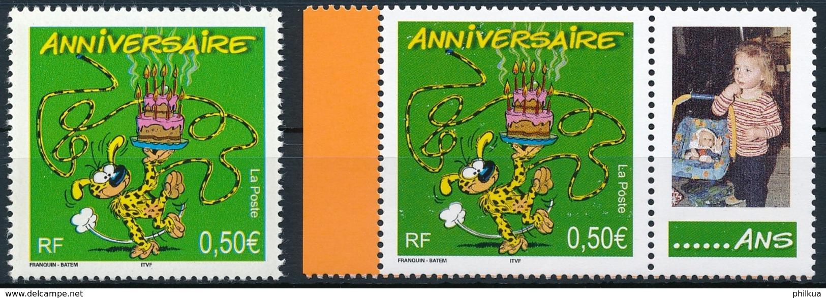 3705y, 3708x   Postfrisch/** - Unused Stamps