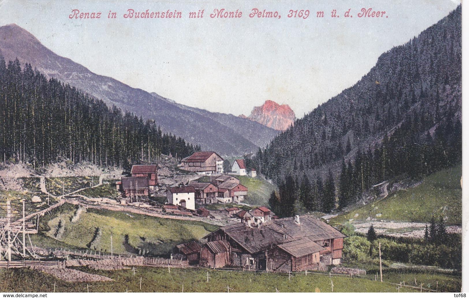Renaz In Buchenstein Mit Monte Pelmo 1910 - Italia