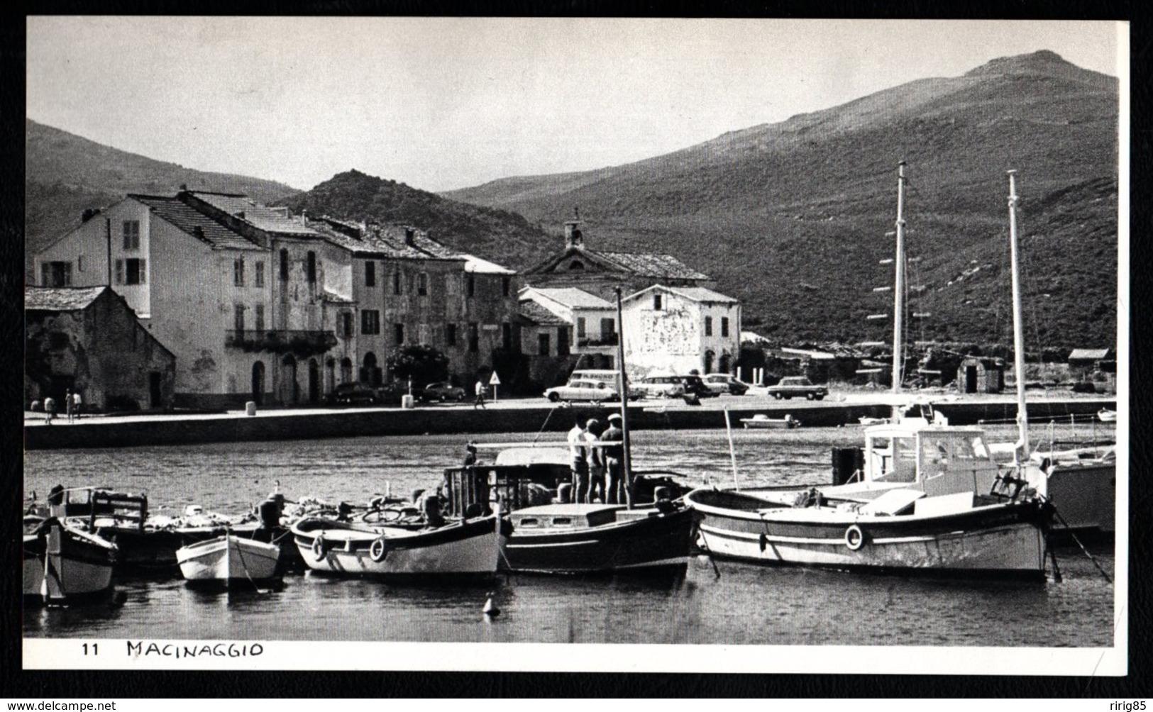 1968  --  CORSE  LE PETIT PORT DE MACINAGGIO    3Q575 - Vieux Papiers
