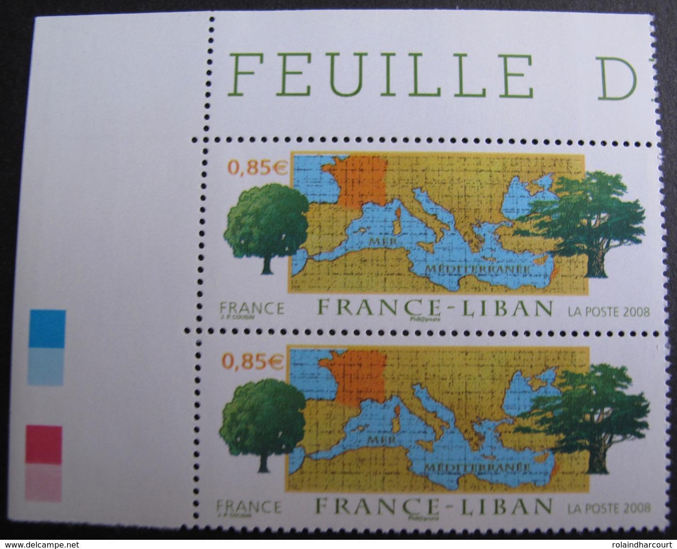 1943 - 2008 - PAIRE N°4323 TIMBRES NEUFS** CdF ☛☛☛ PRIX DE DEPART A MOINS DE 15% DE LA COTE CATALOGUE - France