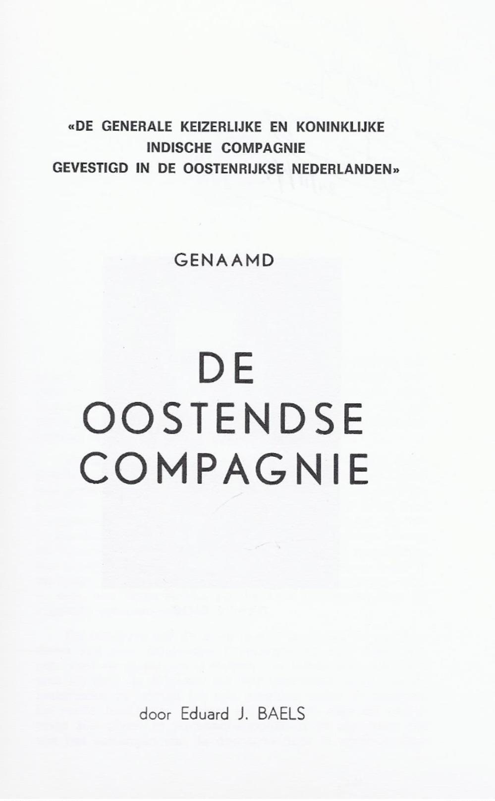 LIQUID. - 5€ De Generale Keizerlijke Koninklijke Indische Compagnie ... Oostenrijkse Nederlanden: De Oostendse Compagnie - Histoire