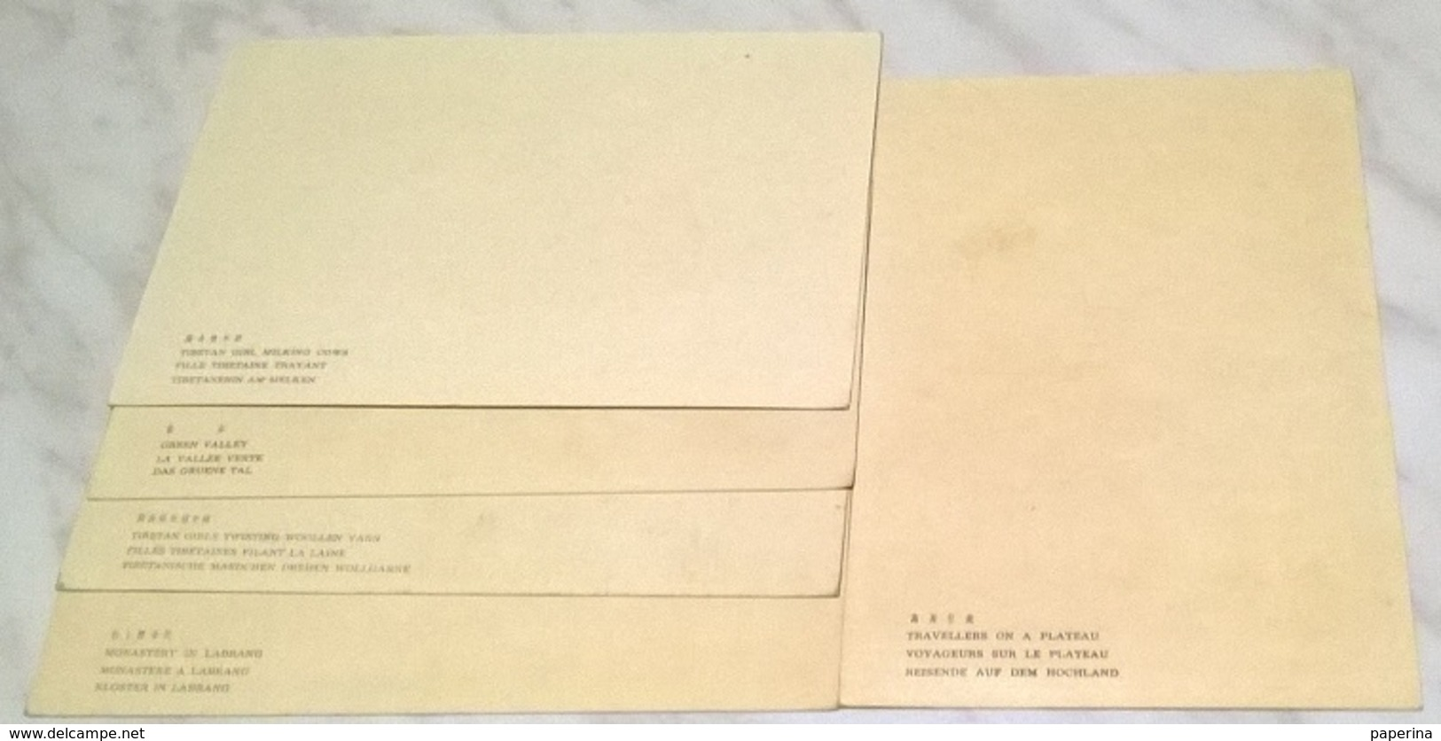 5 CARTOLINE ARTE ORIENTALE   (777) - Cartoline