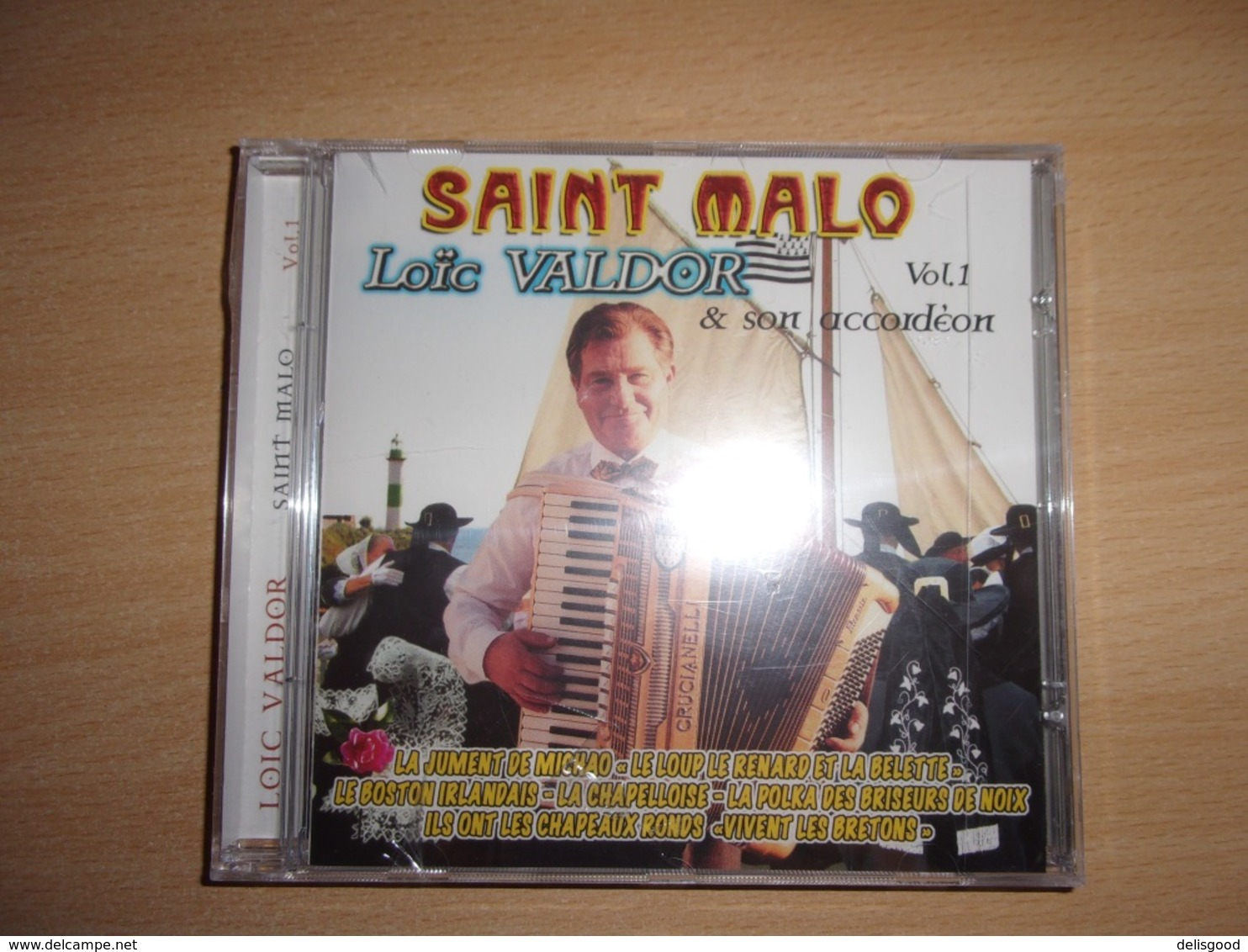 Loic Valdor Et Son Accordeon  : Saint Malo Vol. 1 Rare CD Mint! - Country & Folk
