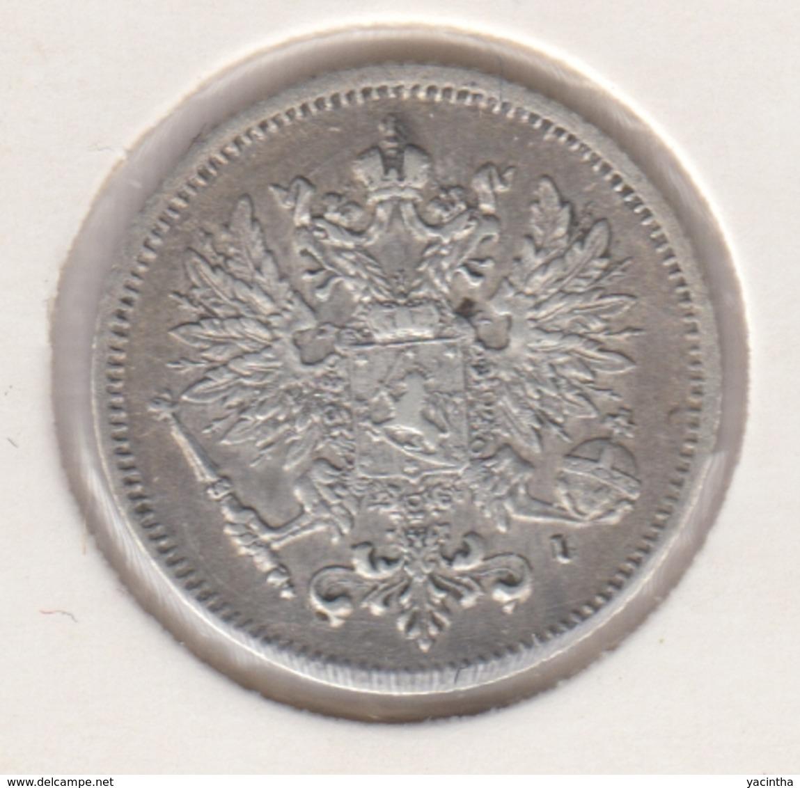 @Y@   FINLAND   25  Pennia 1909  Zilver / Ag     (2745) - Finnland
