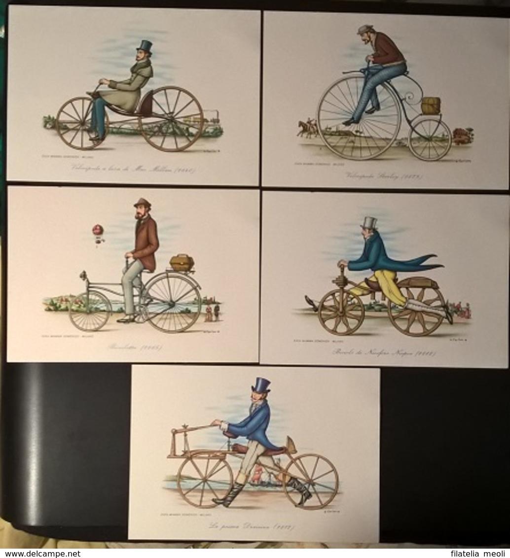 SERIE CARTOLINE BICICLETTE - Cartoline