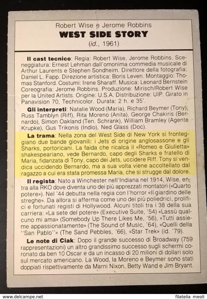 SCHEDA CIAK WEST SIDE STORY - Cinemania