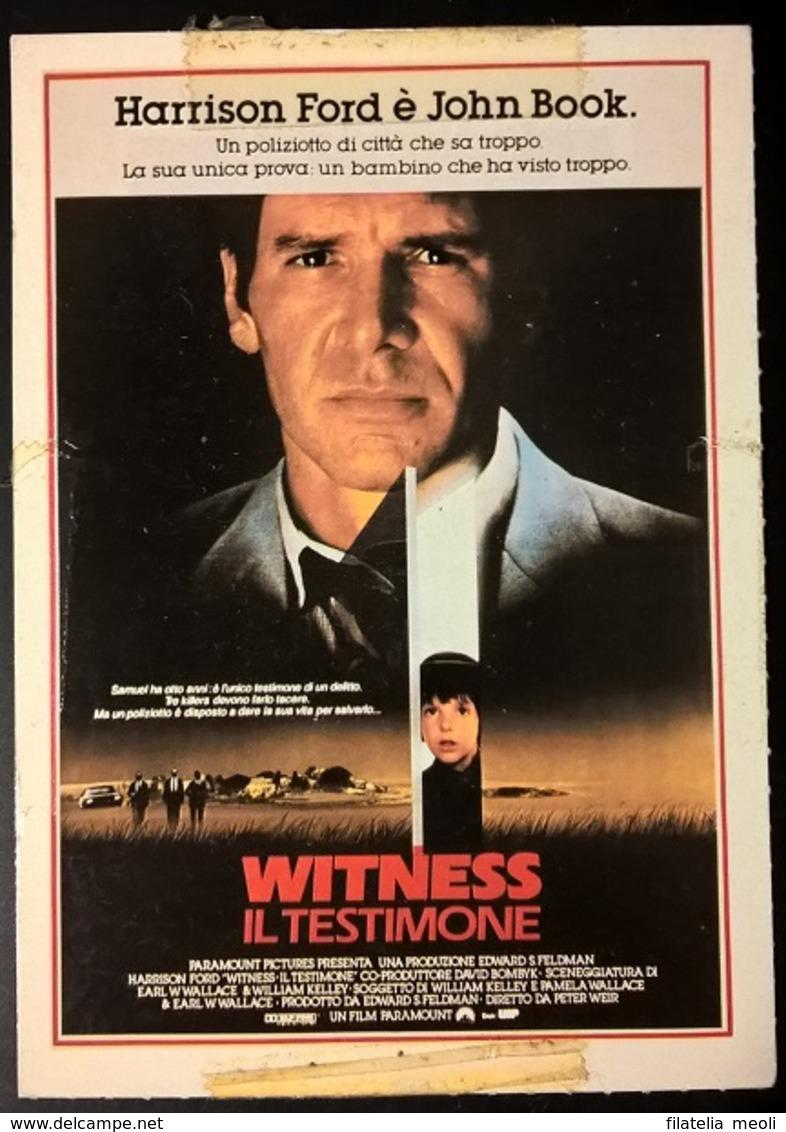 SCHEDA CIAK WITNESS - Cinemania
