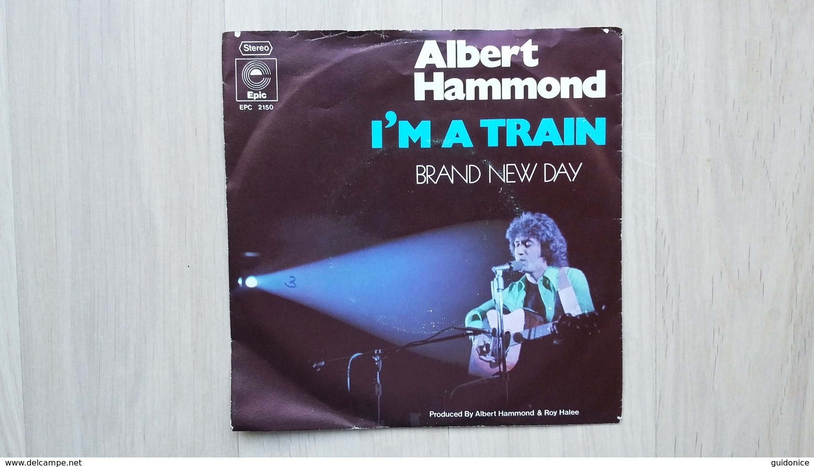 Albert Hammond - I'm A Train - Vinyl-Single - Country & Folk
