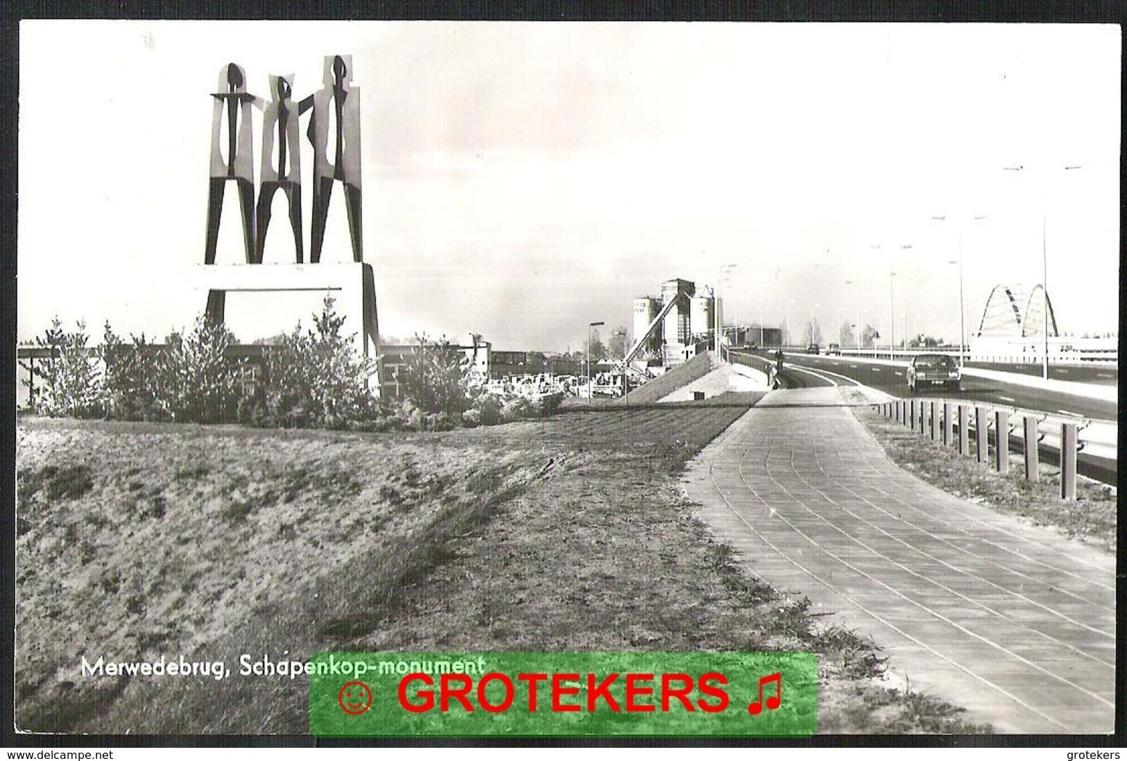 DORDRECHT Merwedebrug Met Schapenkop-monument 1968 - Dordrecht