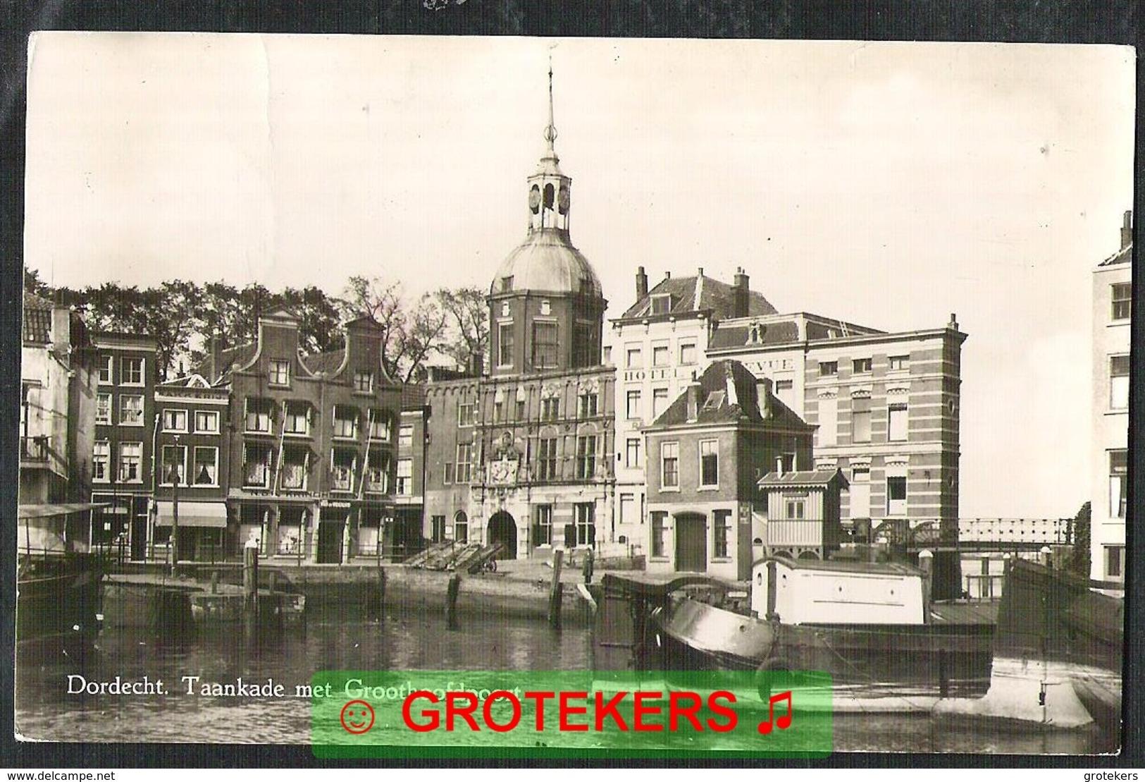 DORDRECHT Taankade Met Groothoofdpoort 1949 - Dordrecht